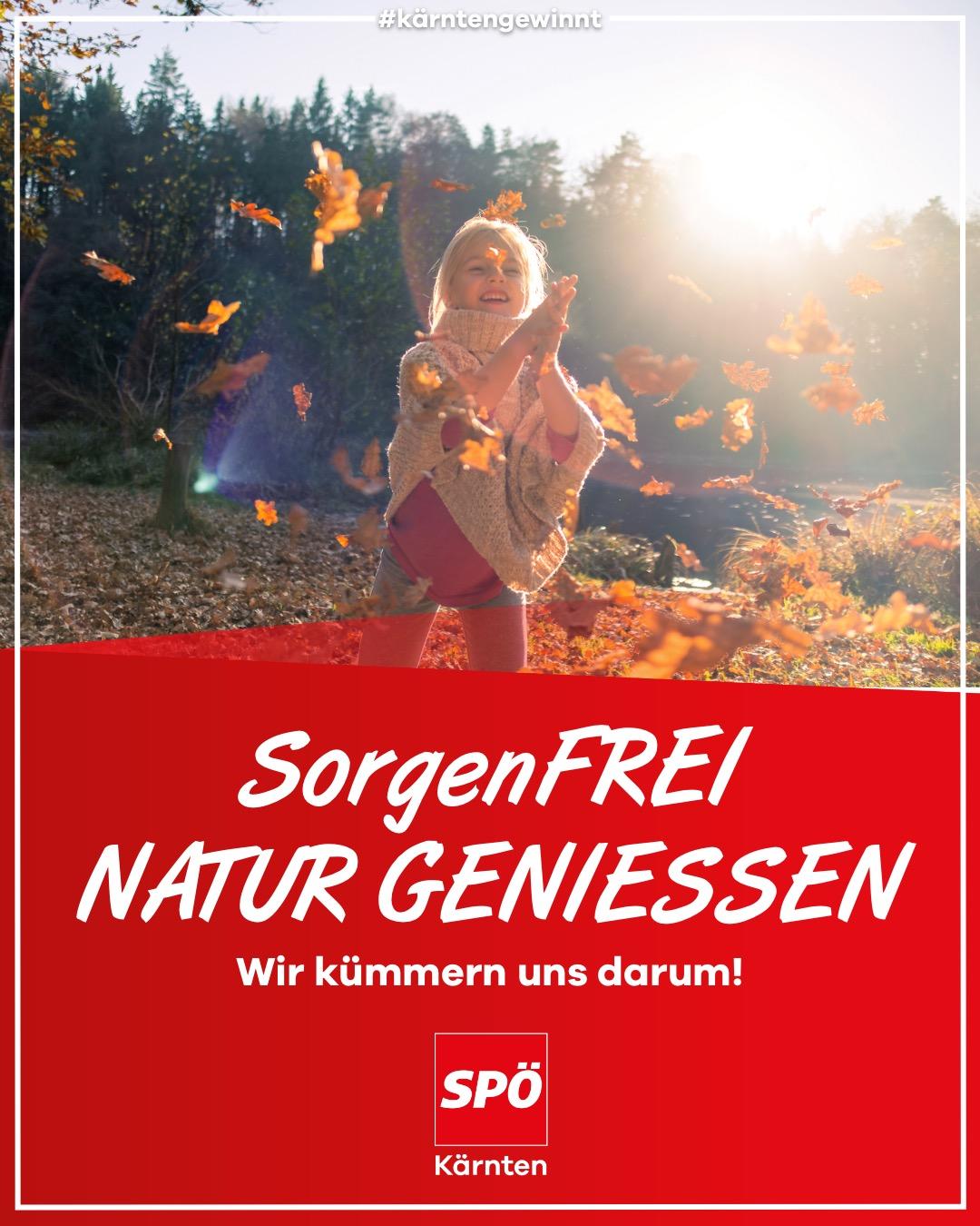 Sorgenfrei Natur geniessen in Kärnten